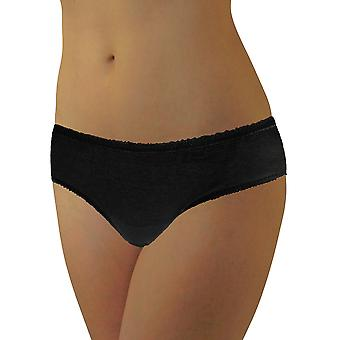 Underworks Womens Disposable 100% Cotton Underwear - For Travel- Hospital Stays- Emergencies
