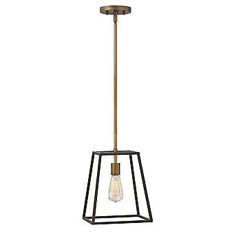 Hinkley belysning Fulton 1 lys bur anheng i bronse