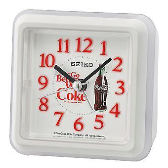 Seiko Coca-Cola bip vækkeur hvid (Best.nr. QHE906W)