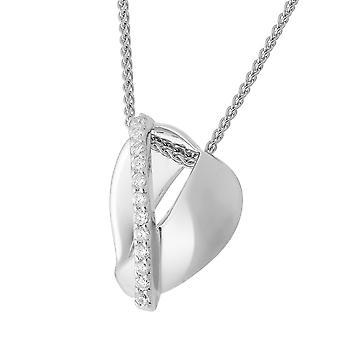 Orphelia Silver 925 kjede med anheng zirkonium ZH-7086