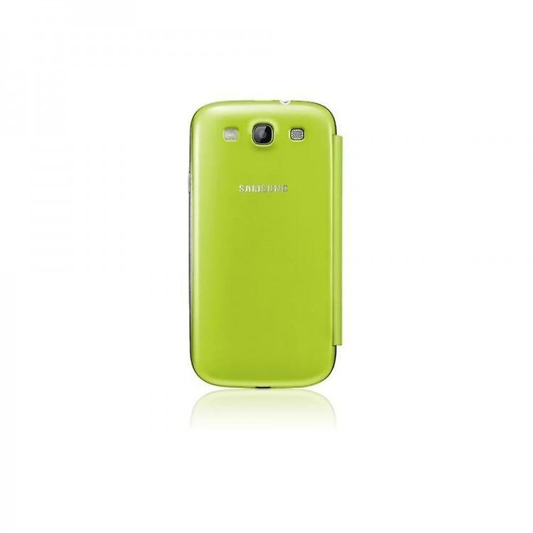 EFC-1G6FME original flip cover case, Galaxy S3 S3 LTE green bulk