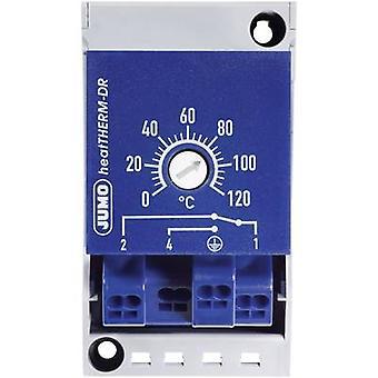 Jumo 603070/0002-7 Temperature sensor 0 up to 120 °C 16 A relay