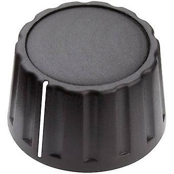 Mentor 4333.6001 Control knob + hand Black (Ø x H) 28 mm x 17 mm 1 pc(s)