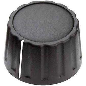 Mentor 4333.6001 bedieningsknop + hand zwart (Ø x H) 28 x 17 mm 1 PC('s)