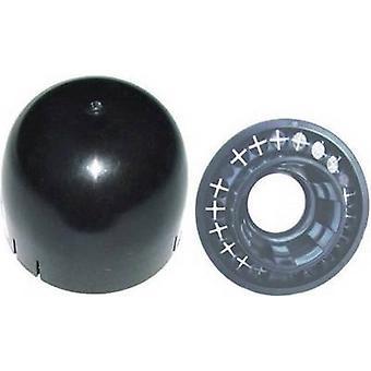 A.S. SAT 48801 Mastdichtungsset Passend für Stange (max.): 50 mm Schwarz