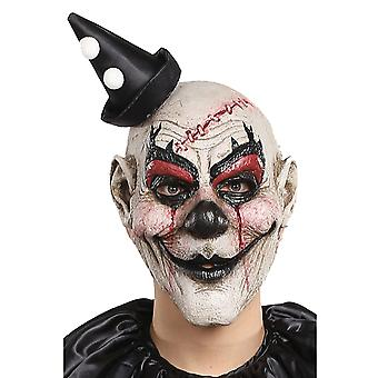 Kill Joy Clown Joker Jester Horror Creepy Evil Scary Halloween Mens Costume Mask