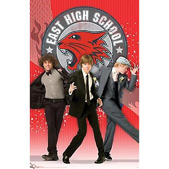 Disney High School Musical 3 - gutter plakaten plakatutskrift