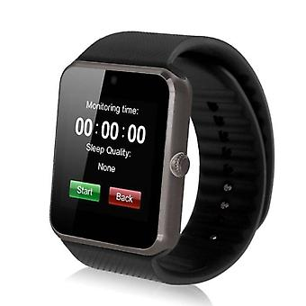 Coisas certificadas® Original GT08 Smartwatch Fitness Sport Activity Tracker Watch OLED Android iOS iPhone Samsung Huawei Black