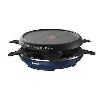 TEFAL RE12A4 Gourmet med 6 31 x 13 cm Pannentjes 850W svart/blå