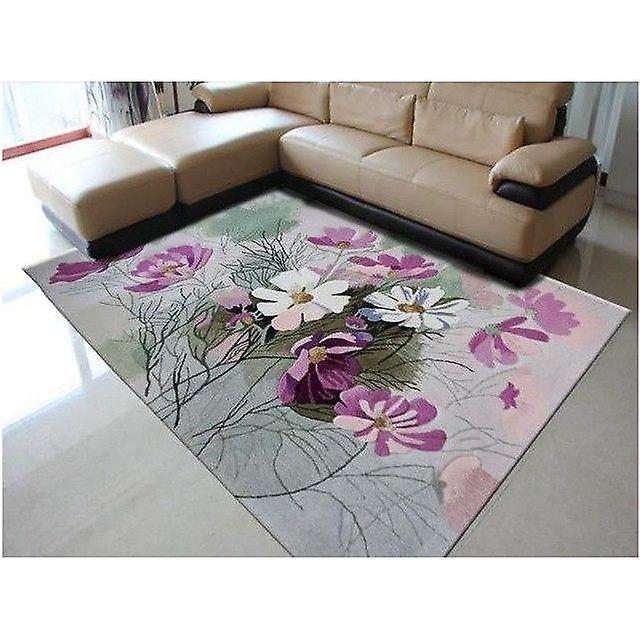 Alle nye 100% ull floral teppe elegant amerikansk rustikke floral stue KF-72