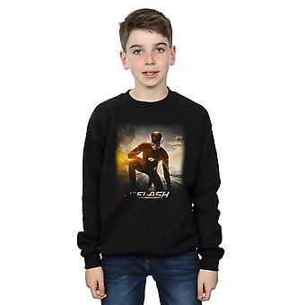 DC Comics Jungen Flash-zukünftige Straße Sweatshirt