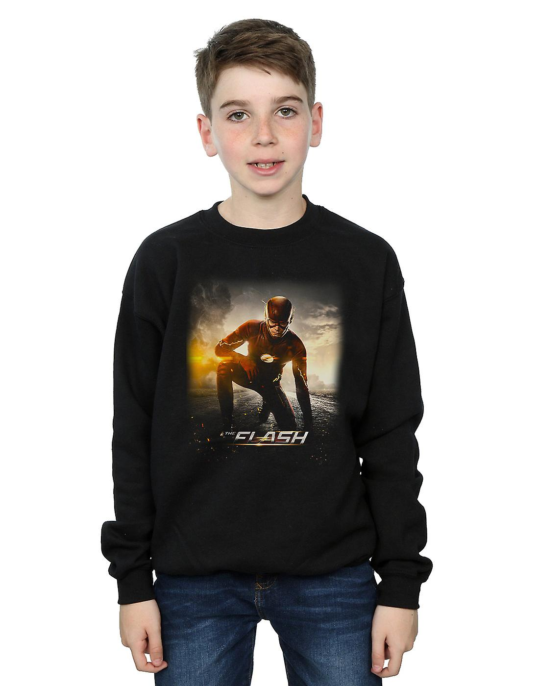 DC Comics Boys The Flash Future Road Sweatshirt