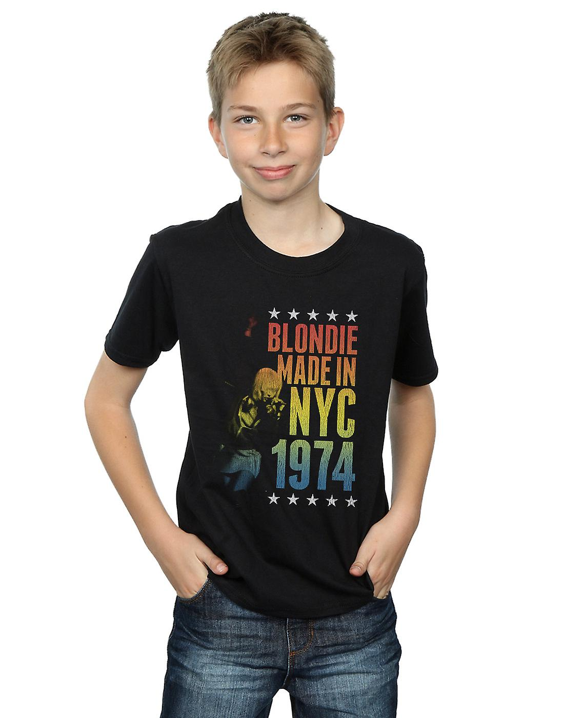 Blondie Boys Rainbow NYC T-Shirt