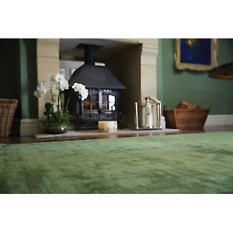 Karma Guru Fern Green  Rectangle Rugs Plain/Nearly Plain Rugs