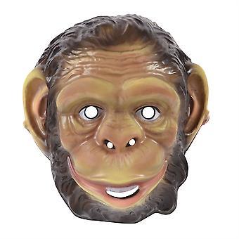 Chimp kunststof masker