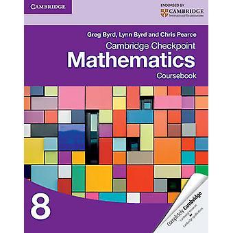 كامبريدج حاجز الرياضيات Coursebook 8 من جريج بيرد-Byr لين