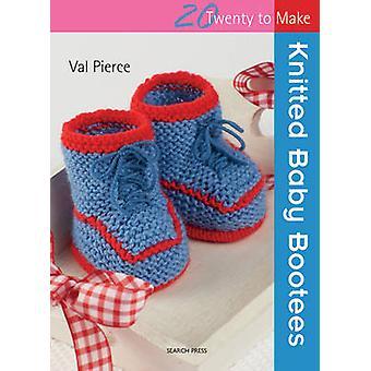 Chaussons bébé tricotés par Val Pierce - livre 9781844486410