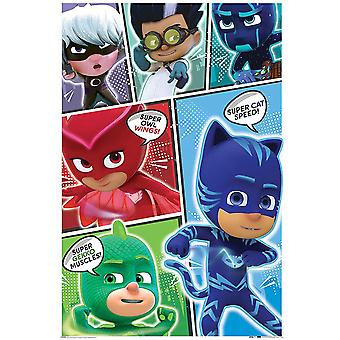 PJ Masks Comic Poster
