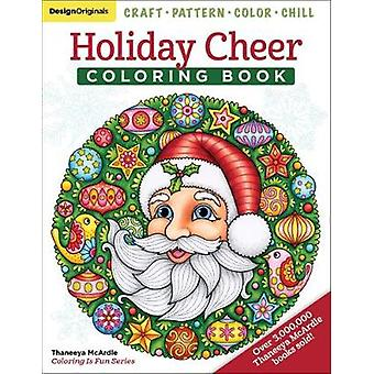 Holiday Cheer Coloring Book - Craft - Pattern - Color - Chill by Holid