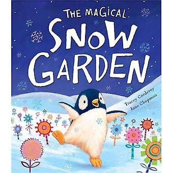 Le jardin magique de neige