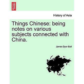 Cosas de chinos ser notas sobre diversos temas relacionados con China. por bola y James Dyer
