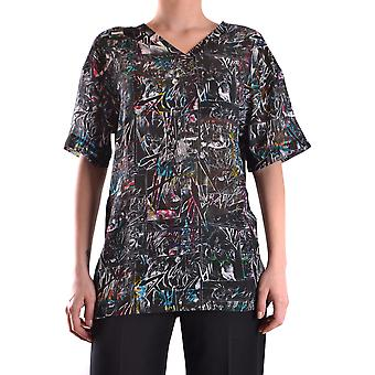 Mcq Door Alexander Mcqueen Ezbc053003 Women's Black Cotton T-shirt