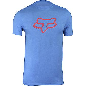 Fox Racing Mens Tournament SS Tech Performance T-Shirt - Acid Blue