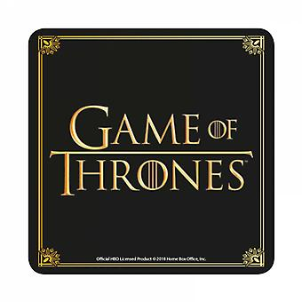 Game Of Thrones Coaster classic Logo TV Show new Official