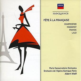 Albert Wolff - importation USA F Te La Fran Aise [CD]