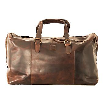 Ashwood Men's Weekend Leather Holdall