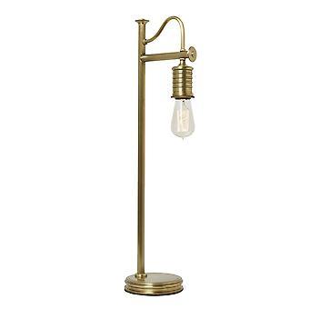 Elstead-1 candeeiro de mesa de luz-latão envelhecido-DOUILLE/TL AB