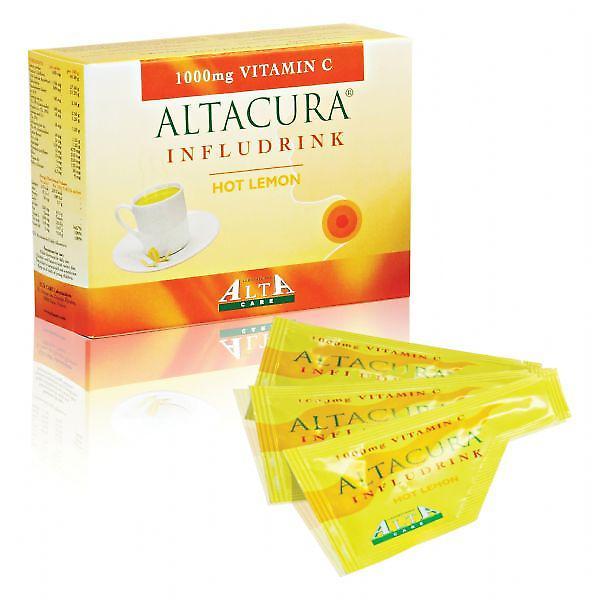 Altacure Infludrink Hot lemon sachets