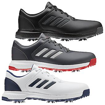 adidas Golf Hombres 2020 CP Traxion Agua Repelente Spiked Zapatos de Golf de Cuero