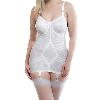 Rago style 9357 - body briefer extra firm shaping  - white