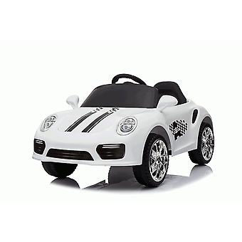 Rideontoys4u Kids 12V Boxster Style Sports Coupe Electric Ride On Car White