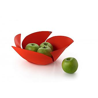 Alessi Twist Again Fruit Bowl - Red