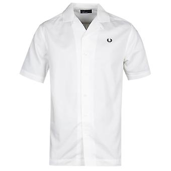 Fred Perry Revere col manches courtes chemise blanche