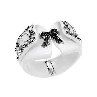 Belle Etoile Corset White Bangle 07061010102-M