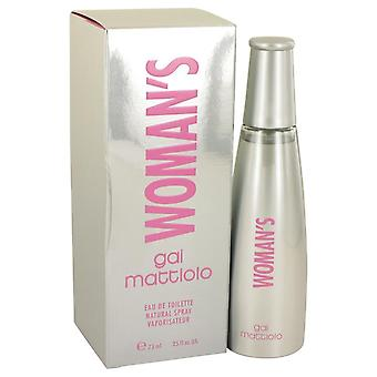 Gai mattiolo woman's eau de toilette spray von gai mattiolo 537226 75 ml