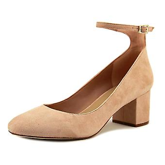 Aldo Womens Clarisse Suede Closed Toe Ankle Strap Classic Pumps