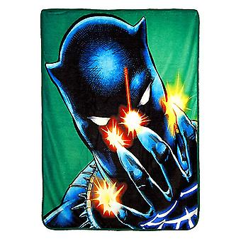 Super Soft Throws - Black Panther - Power Of Claws New 45x60