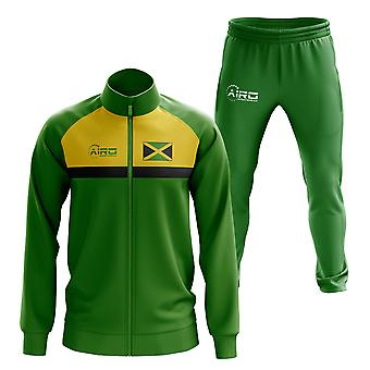 Jamaica Concept jalka pallo Tracksuit (vihreä)