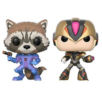 Marvel vs Capcom Infinite Rocket vs Mega Man X US Pop! 2 Pk