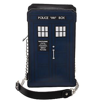 Hand Bag - Doctor Who - Tardis Die Cut New lb7btedrw