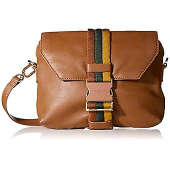 Liebeskind Berlin Soft Messenger Clutch Small - Brown Women's Day Pochette (Toffee) 6x18x24 cm (W x H L)