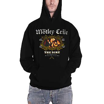 Motley Crue Hoodie The Dirt Movie Band Logo new Official Mens Black Pullover