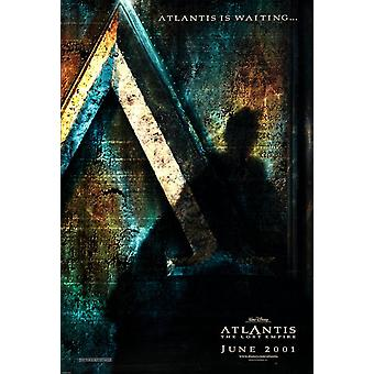 Atlantis (Advance Style B) (2001) Original Cinema Poster
