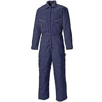 Dickies Mens Lined Quilted Warm Elasticated Work Coveralls