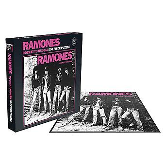 Ramones Jigsaw Rocket To Russia Album Cover new Official 500 Piece