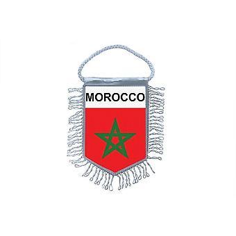 العلم الصغير العلم البلد زخرفة السيارات المغرب المغرب